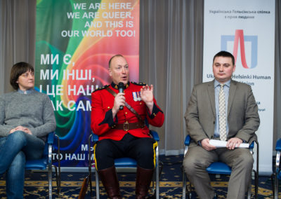 The Conference - CHALLENGE WITHOUT RESPONSE - HATE CRIMES AGAINST LGBT PEOPLE IN UKRAINE - Bruce Kirkpatrick