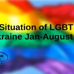 Situation of LGBT in Ukraine Jan-August 2020