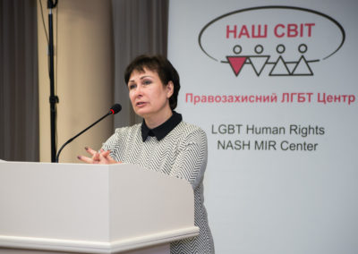 Конференція Виклик без відповіді - злочини ненависті проти ЛГБТ в Україні - Аксана Філіпішина