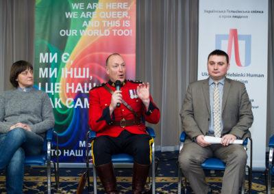 Конференція Виклик без відповіді - злочини ненависті проти ЛГБТ в Україні - Брюс Кіркпатрик