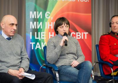Конференція Виклик без відповіді - злочини ненависті проти ЛГБТ в Україні - Олександр Павліченко, Оксана Гузь, Брюс Кіркпатрик