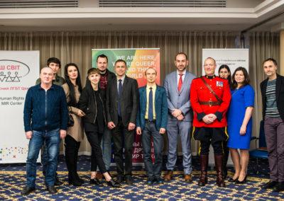 Конференція Виклик без відповіді - злочини ненависті проти ЛГБТ в Україні - фото3