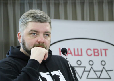 Максим Буткевич, координатор Проекту «Без кордонів»